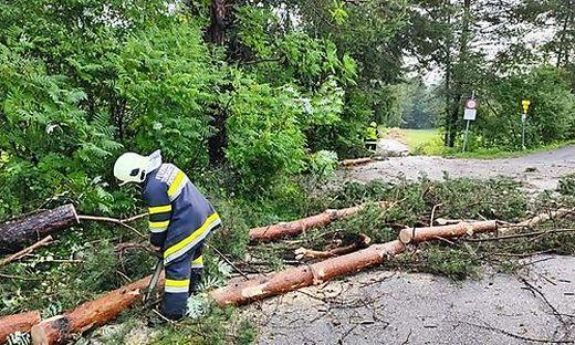 In Kärnten und Osttirol mussten zahlreiche Feuerwehren ausrücken