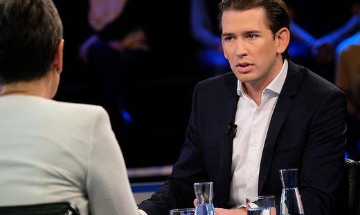 Kurz gegen Lunacek im ORF