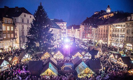 In zehn Tagen sperren die Christkindlmärkte in Graz auf
