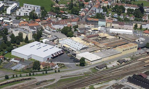 Das Werk der Austria Email in Knittelfeld