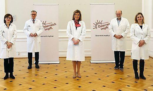 Die fünf Wortführer der neuen Impfkampagne