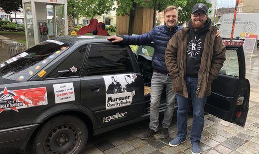 Kleinferchner und Bischof wagen das Abenteuer Balkan