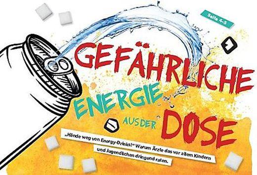 Kleine Kinderzeitung Hande Weg Von Energy Drinks Kleinezeitung At