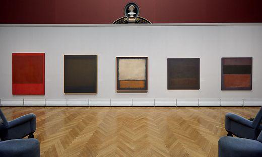 Blick in den Ausstellungsraum (1998 Kate Rothko Prizel & Christopher Rothko)