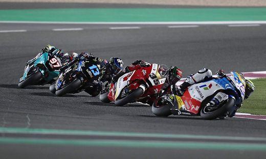 Foto aus dem Moto2-Rennen