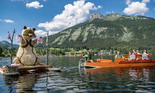 Narzissenfest: Höhepunkt ist der Bootskorso