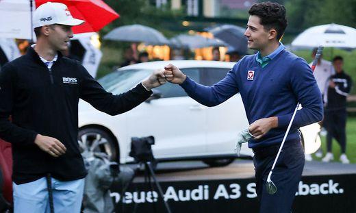 Timon Baltl (rechts) gewann das Shoot Out im Vorjahr gegen Matthias Schwab