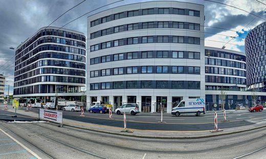 Die Merkur-Zentrale in der Grazer Conrad-von-Hötzendorf-Straße