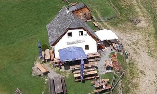 Die Grafenhütte am Fuße der Seckauer Hochalm