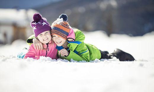 Wintererlebnis pur bietet das Bergdorf Meransen in Südtirol