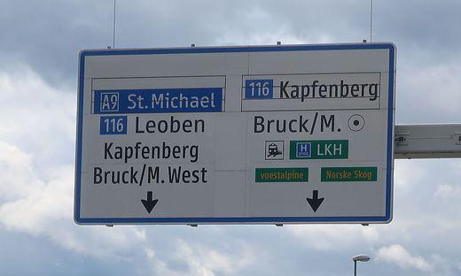 Wo führt die Reise für die obersteirischen Städte Bruck, Kapfenberg und Leoben hin?