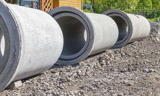 Zu den geförderten Projekten zählt die Errichtung von Kanalisationsanlagen (Sujetbild)