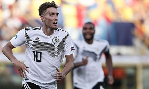 Luca Waldschmit erzielte zwei Tore