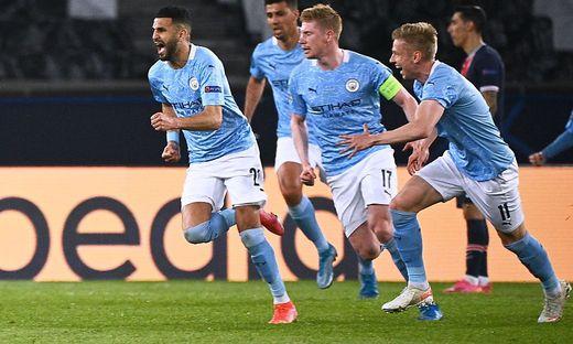 Manchester City darf sich über den Meistertitel freuen