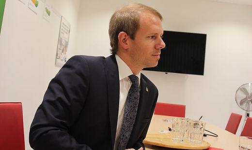 Andreas Sucher (SPÖ) ist als Stadtrat in Villach zurück getreten