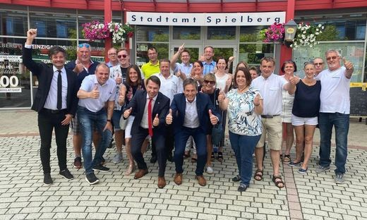 Jubel bei der SPÖ Spielberg