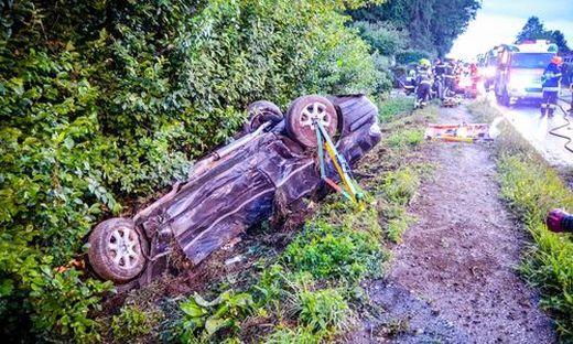 Unfall auf der Packer Bundesstraße