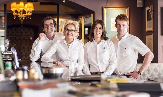 Familie Craigher in der Schokoladenmanufaktur in Friesach