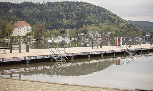 Südbrücke wurde um 300.000 Euro im Strandbad Klagenfurt saniert