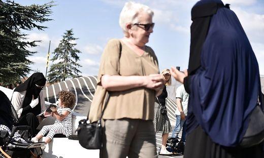 Burka-Verbot in Dänemark: Erstmals Strafe gegen Nikab-Trägerin verhängt
