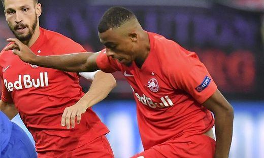 Salzburg-Mittelfeldspieler Bernede erlitt Schienbeinbruch