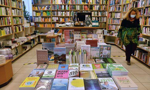 Die Maskenpflicht in den Buchhandlungen ist vorbei, die Nachwehen der Krise sind es nicht