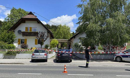 Der Tatort in Wernberg