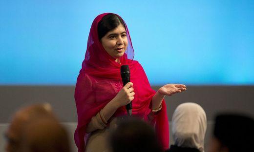 Malala Yousafzai erstmals seit Anschlag auf sie in Pakistan