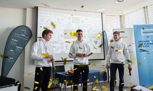 Das Siegerteam Pocketwingcard (Bulme Graz)