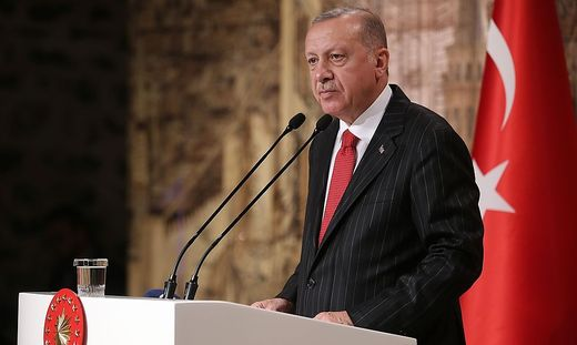 Der türkischen Staatschef Recep Tayyip Erdogan