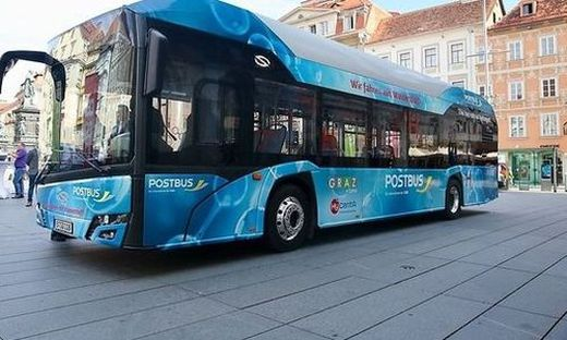 Wurde in Graz getestet: Emissionsfreier Wasserstoffbus