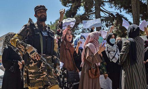 Frauen-Protest in Afghanistan