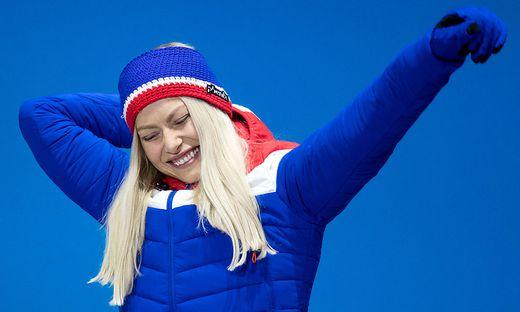 Ragnhild Mowinckel bei den Olympischen Spielen in Pyeongchang