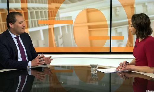 """""""Ich möchte nichts von diesem Mist hören"""": Das Interview von Tova O'Brien mit Jami-Lee Ross"""