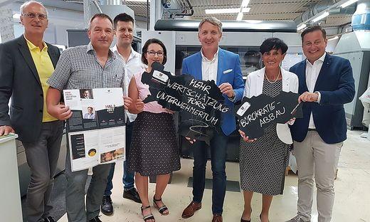 Wirtschaftsbund, Leoben, Josef Herk, Universal Druckerei