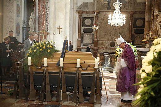 Bischof Wilhelm Krautwaschl leitete das Begräbnis im Grazer Dom