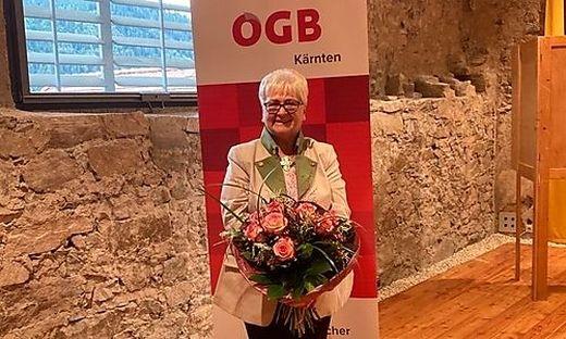 Inge Gasper freut sich über die Wiederwahl