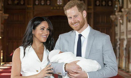 Meghan, Harry und ihr Sohn Archie