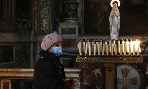 Italien öffnet die Kirchen