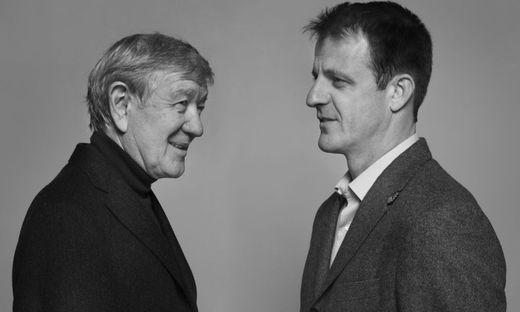 Armin Thurnher und Michael Fleischhacker