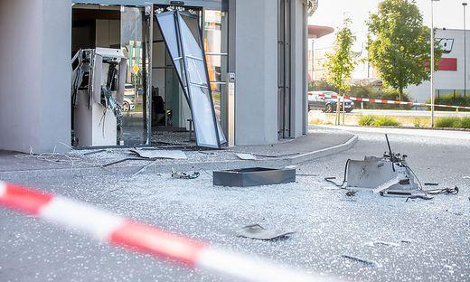 08.08.2019 - Bankomatsprengung - Nussdorf/Debant