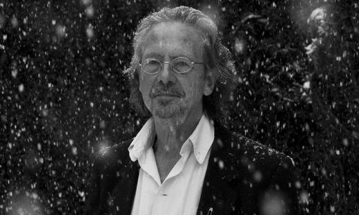 Beim ersten Treffen schneite es in Paris und alles stand still. Dieses Foto von Wolfgang Zajc war das Lieblingsmotiv Peter Handkes