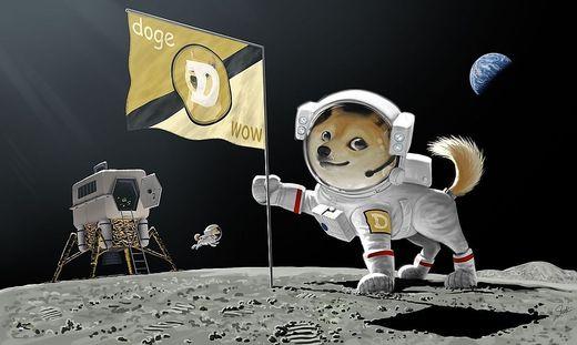 Der Kurs von Dogecoin explodiert gerade