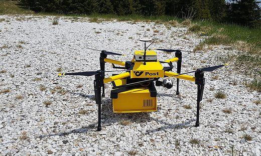 Die letzte Meile will die Post bald von Drohnen ausliefern lassen