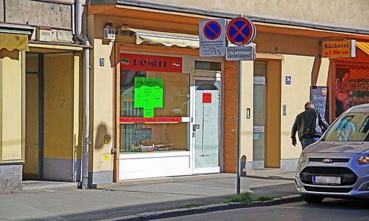 Große Aufregung um dieses 15 Quadratmeter kleine Geschäft in der Brucker Theodor-Körner-Straße
