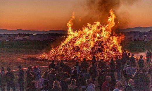 Für heuer ausgedämpft: Osterfeuer werden generell verboten.