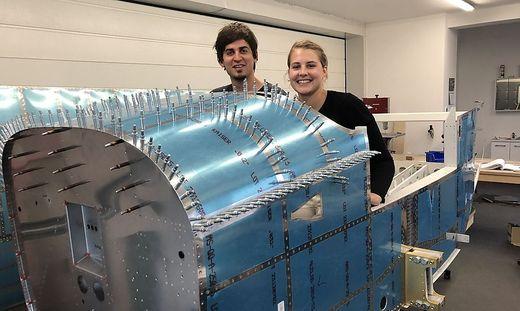 Lisa Schrofler und Christian Ellersdorfer sind ihrem Traum vom eigenen Flugzeug ein Stück nähergerückt