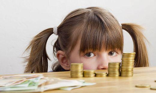 Kinder sollen ein Gefühl für Geldmengen bekommen