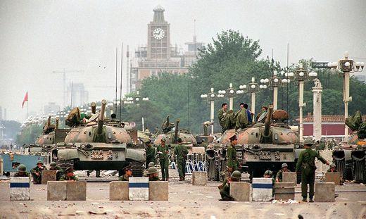 30. Jahrestag des blutigen Tiananmen-Massakers