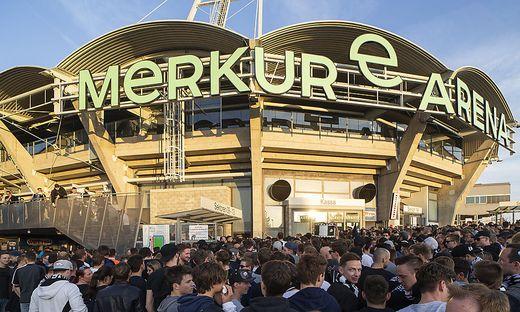 In der Merkur-Arena wird heute Europa-League gespielt